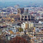 Catedral de Granada desde la Alcazaba de la Alhambra