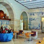 Cafetería del museo del Azulejo de Lisboa