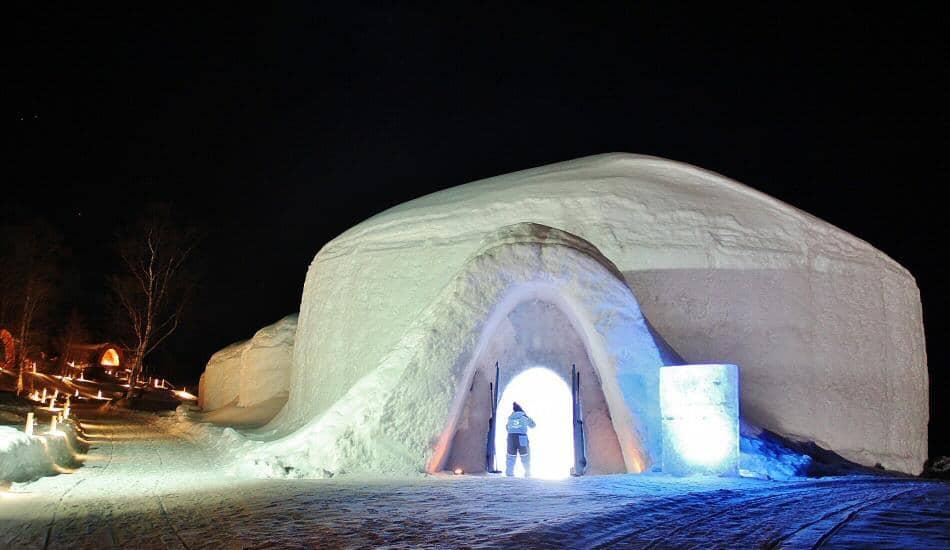 snowhotel hotel de hielo en kirkenes al norte de noruega
