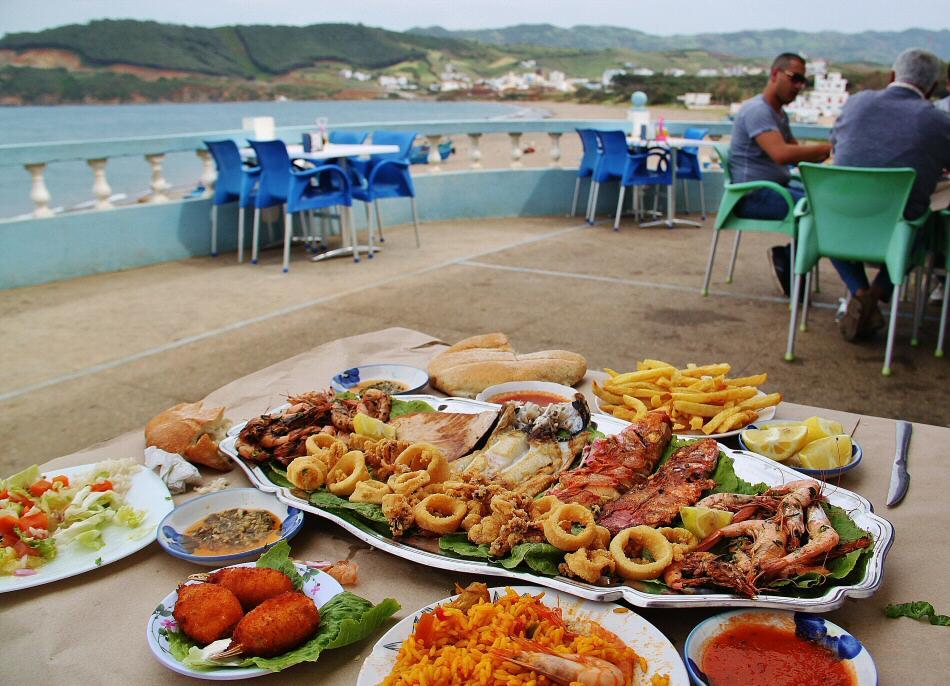 Restaurante Mericano en Azla en Tetuán al norte de Marruecos