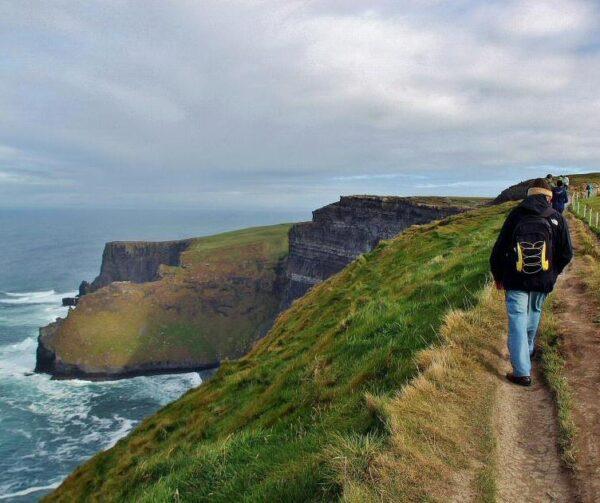 Acantilados de Moher en la costa oeste de Irlanda