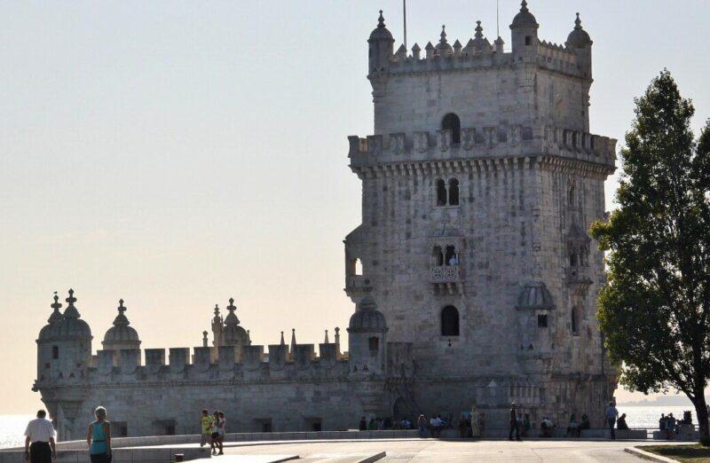 Torre de Belem cerca de Lisboa