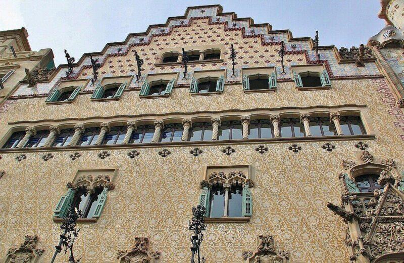 Casa Amatller, edificio modernista en Barcelona