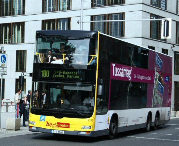 Autobús urbano en Berlín