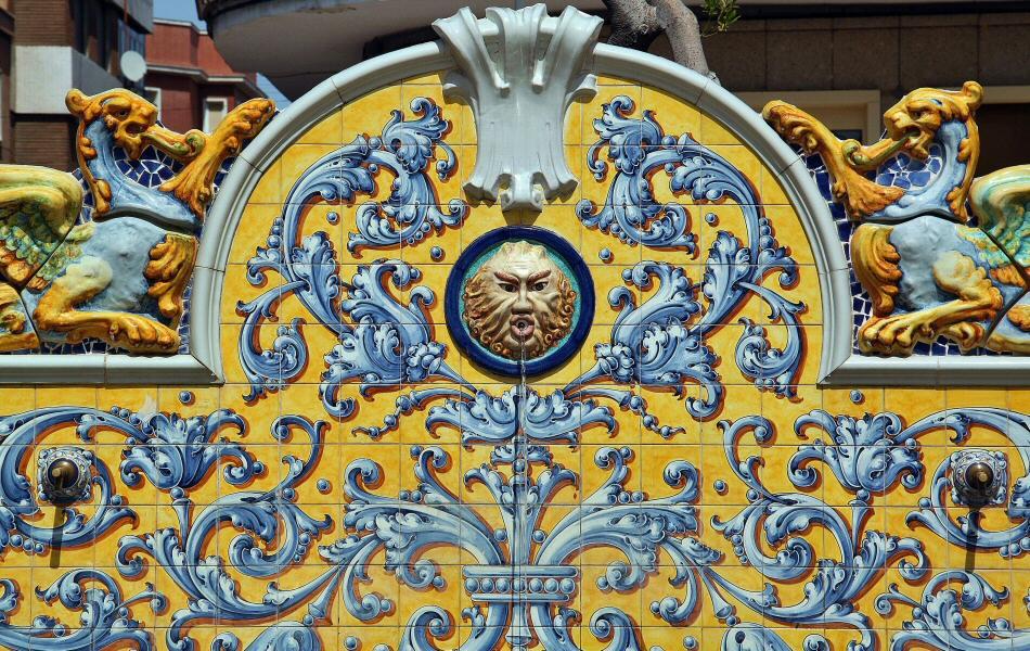 Jardines del Prado en Talavera de la Reina en Toledo