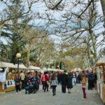 Mercado de Artesanía en la fiesta de las Mondas en Talavera de la Reina
