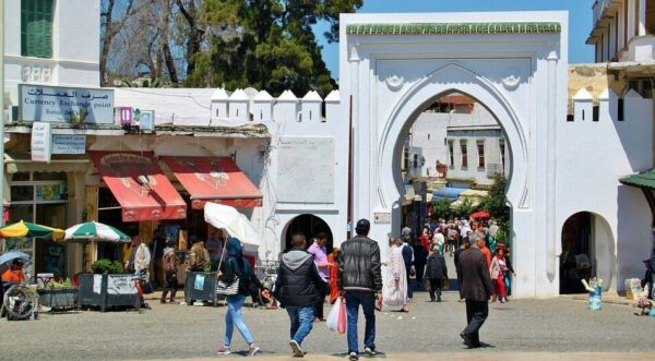 Entrada a la Medina de Tánger en Marruecos