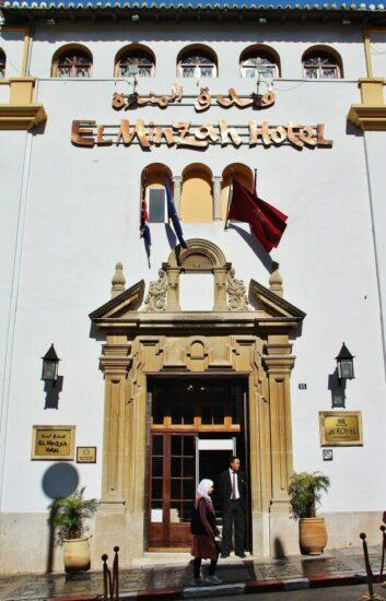 Hotel El Minzah en Tánger al norte de Marruecos