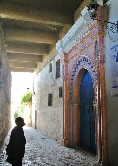 Rincón de la kasba de Tánger