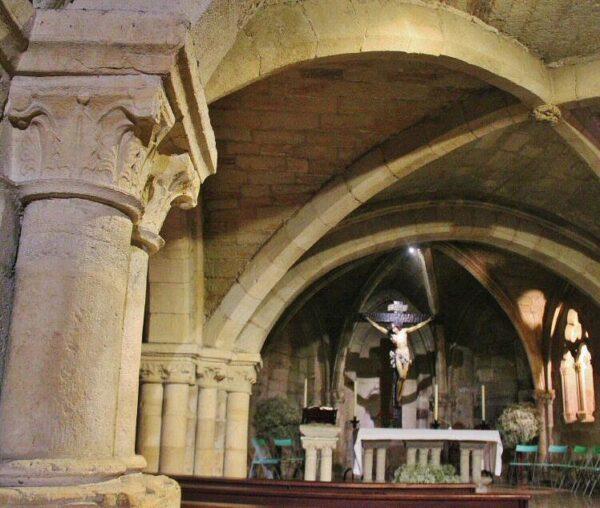 Iglesia del Cristo, cripta de la catedral de Santander