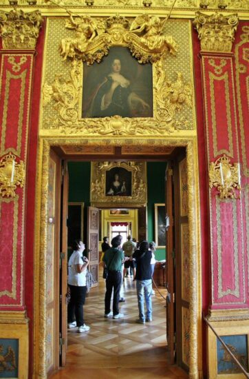 Interior del palacio de Charlottenburg en Berlín