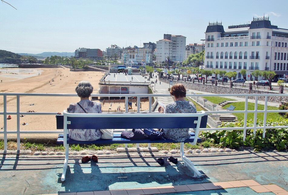 Jardines de Piquio entre las playas del Sardinero en Santander