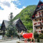 Rincón de Arties en el Valle de Arán en Pirineos de Cataluña