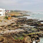 Vistas de la costa desde la muralla de la medina de Asilah
