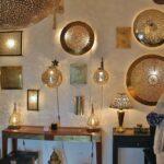 Artesanía en la medina de Asilah al norte de Marruecos