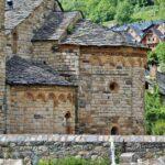Absides de Sant Climent de Taüll en Valle de Boí en Cataluña