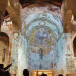 Abside de Sant Climent de Taüll en Valle de Boí en Cataluña