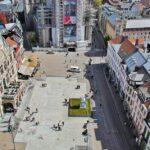 Vistas panorámicas de Gante desde el Campanario Belfort