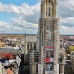 Torre de la catedral de San Bavón en Gante
