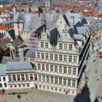 Ayuntamiento de Gante desde la torre Campanario Municipal