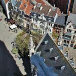 Lonja de la Seda desde la torre campanario de Gante