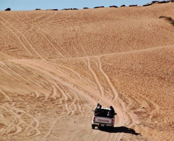 Excursión 4x4 por desierto de Wadi Rum en Jordania