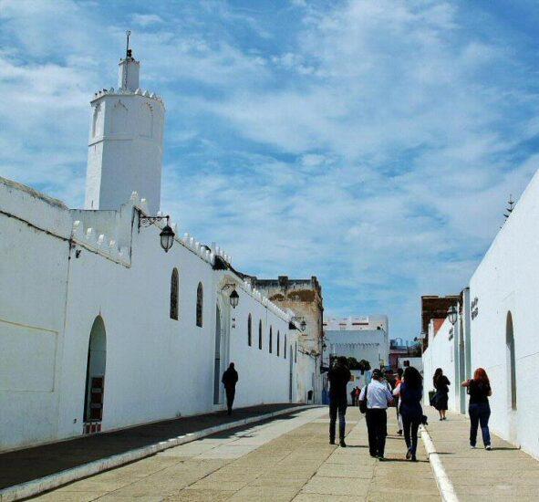 Entrada a la medina de Asilah al norte de Marruecos