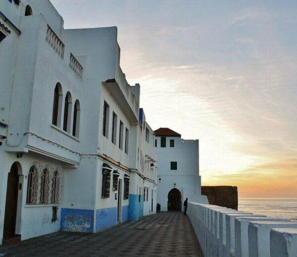 Atardecer en Asilah al norte de Marruecos