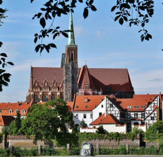 Catedral de Wroclaw en Polonia