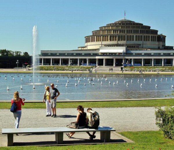 Salón del Centenario en Wroclaw en Polonia