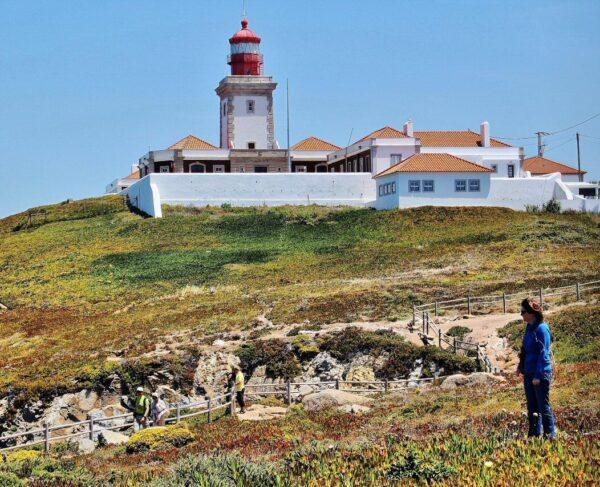 Cabo de Roca cerca de Lisboa