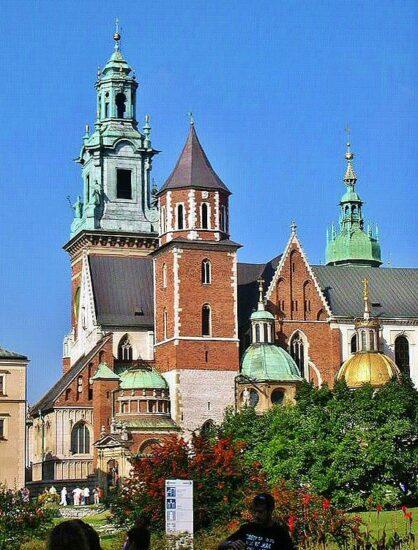 Catedral de Wawel en Cracovia en Polonia