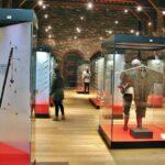 Museo de Armas en el castillo Condes de Flandes en Gante