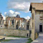 Murallas del castillo Condes de Flandes en Gante