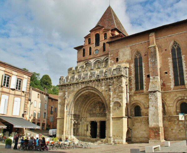 Abadía románica de Moissac al sur de Francia