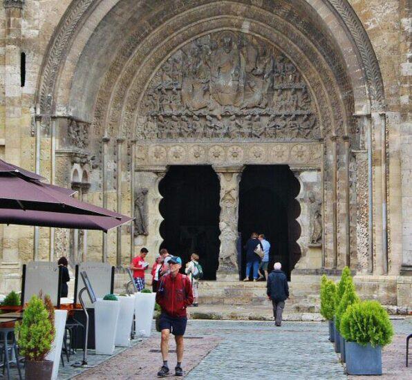 Pórtico de la iglesia de la abadía de Moissac al sur de Francia