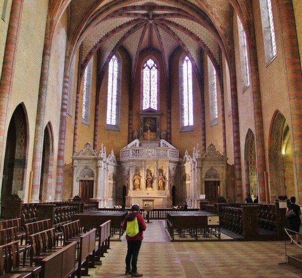 Iglesia de la abadía de Moissac al sur de Francia