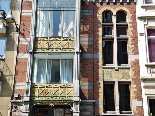 Casa de Paul Hankar, Art Noveau en Bruselas