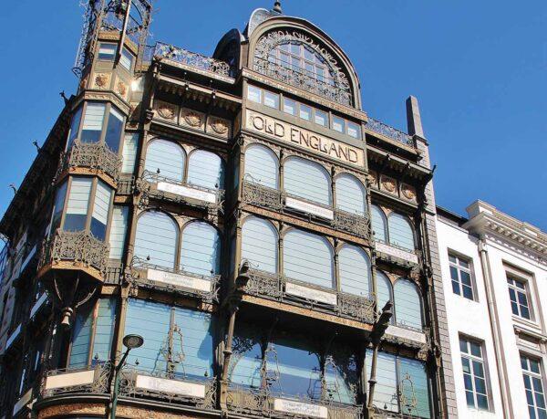 Museo de Instrumentos Musicales en edificio Old England de Bruselas