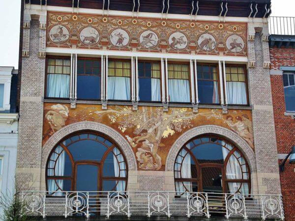 Casa Ciamberlani, Art Noveau en Bruselas