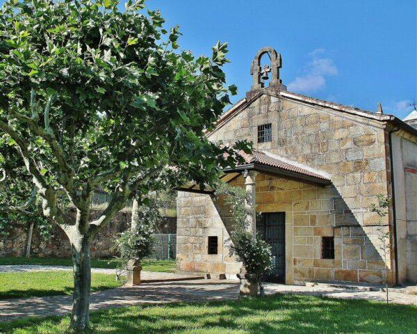 Ermita rural en Cabezuela del Valle en el Valle del Jerte