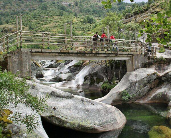 Los Pilones en el Valle del Jerte en Cáceres