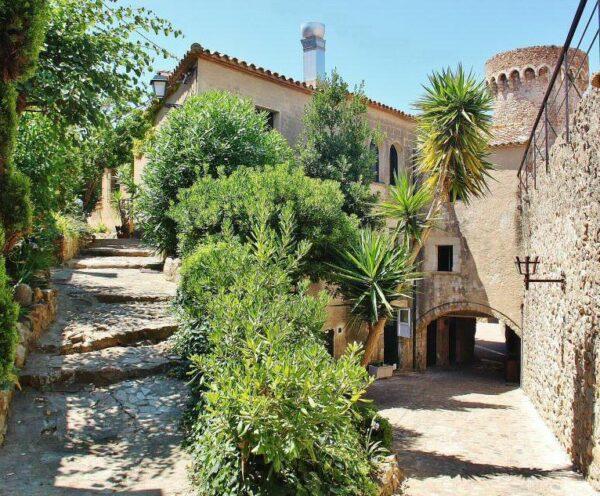 Villa medieval amurallada de Tossa de Mar en Costa Brava
