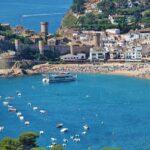 Tossa de Mar en la Costa Brava en Cataluña