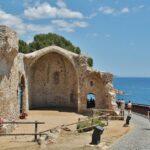 Restos de la antigua iglesia de San Vicente en Tossa de Mar