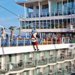 Tirolina en el crucero Harmony of the Seas de Royal Caribbean
