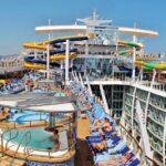 Piscinas en el crucero Harmony of the Seas de Royal Caribbean