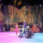 Espectáculo en la pista de hielo del crucero Harmony of the Seas