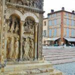 Portada de la iglesia de la Abadía de Moissac en Occitania
