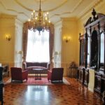 Salón de Alfonso XIII en palacio de la Magdalena en Santander